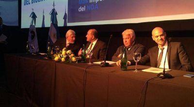 Guillermo Dietrich destacó la importancia de ampliar el aeropuerto Benjamín Matienzo
