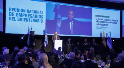"""Manzur: """"Tucumán tiene el empresariado más potente del norte"""""""