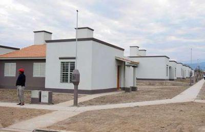 Licitaron 547 viviendas que se construirán en 7 municipios salteños