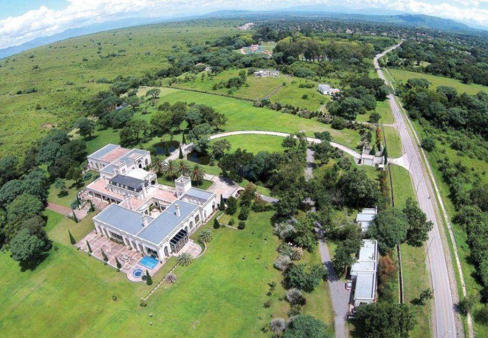 Juan Carlos Romero sólo declaró cuatro millones de dólares
