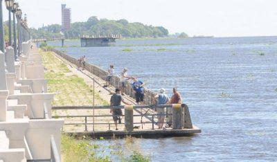 El río registra una altura por debajo de los 4 metros