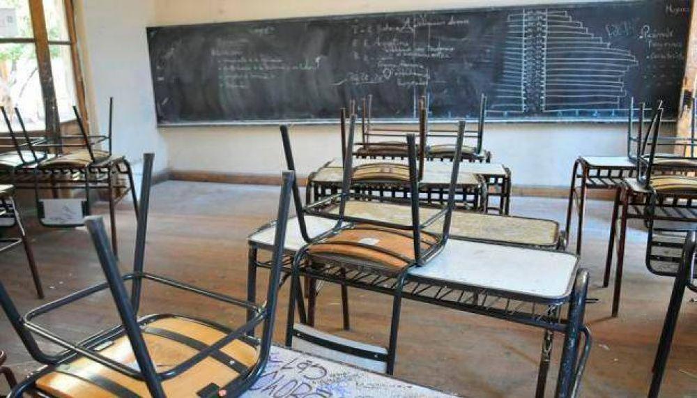 El reinicio escolar se verá afectado por diversos paros docentes