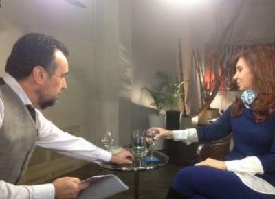 Cristina cuestion� a Macri y asegur�: