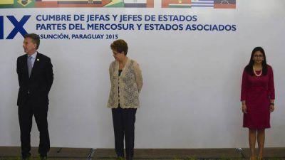Argentina rechaza a Venezuela en la presidencia del Mercosur