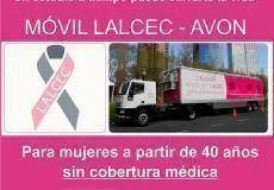 Arribar� el cami�n de Lalcec para prevenir el c�ncer de mama