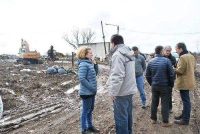 """Funcionarios nacionales y locales dialogaron sobre el """"plan de gestión integral de residuos en Chascomús"""""""
