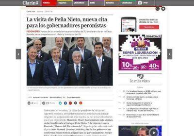 Macri no invitó al gobernador Rodríguez Saá al almuerzo con el presidente mexicano