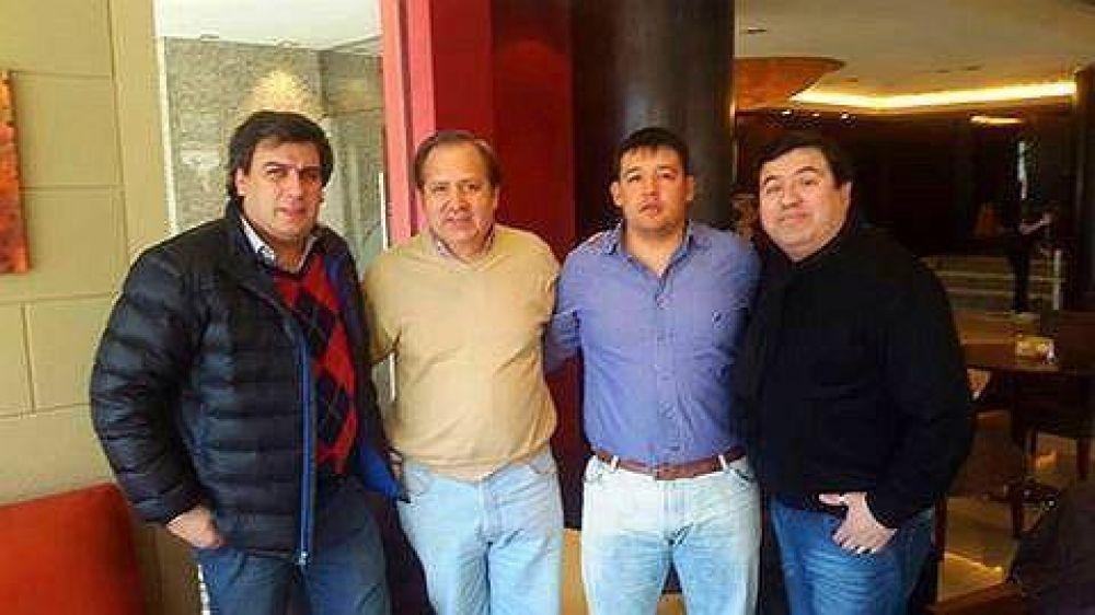 Facundo Prades se reunió con los dirigentes del SATSAID