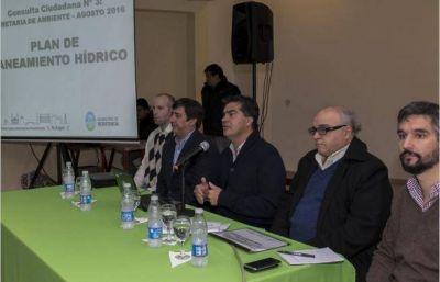 El municipio present� el Plan de Saneamiento H�drico