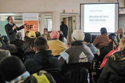 Anunciaron una millonaria inversión en obras para el oeste de la ciudad