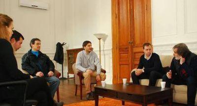 Reunión con el ministro Pullaro por agresiones a la prensa