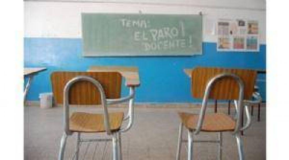 El acatamiento al paro docente superó el 90%