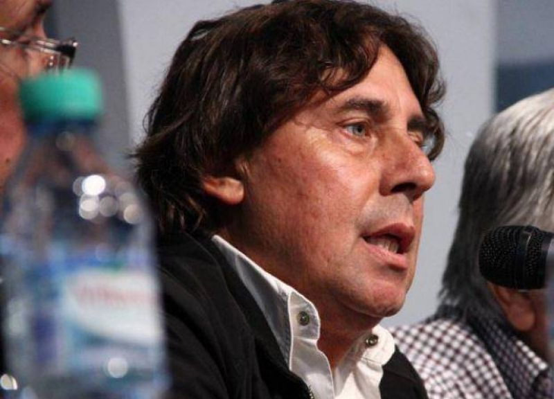 Pablo Micheli, el l�der de la CTA Aut�noma llega a San Luis