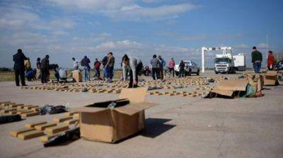 Un camión sanjuanino involucrado en el secuestro de 700 kilos de droga