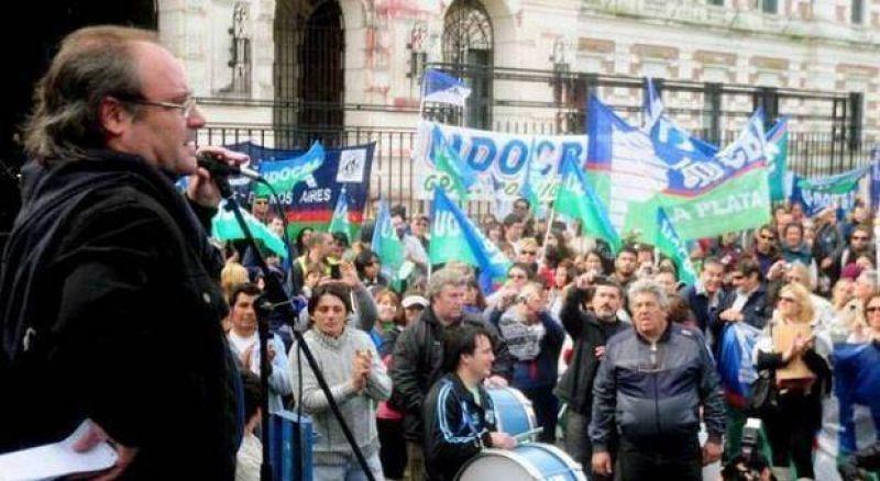 Paro docente y de auxiliares: la adhesión en Dorrego superó el 35 por ciento