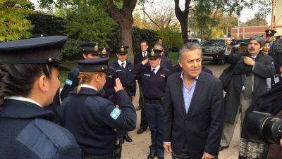 Cornejo achica la cúpula policial