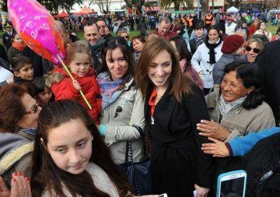 """Recorridas de Vidal: """"Acto de Justicia"""" en Ranchos y """"locro popular"""" en Belgrano"""