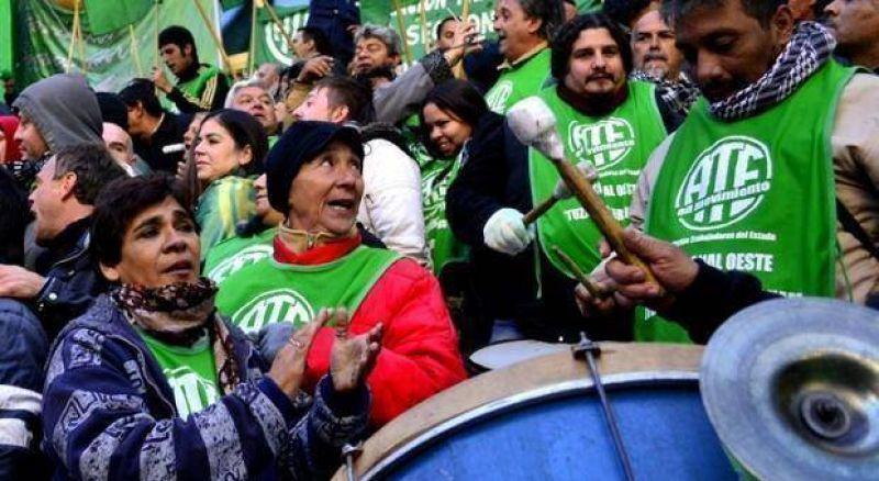 Oscuro panorama sindical: ATE celebró la alta adhesión al paro y FEB tensó la cuerda
