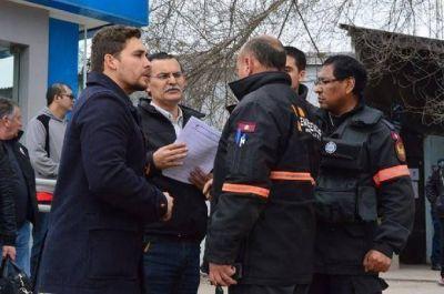 Controlaron la fuga de gas en Barrio Mosconi, después de 5 horas