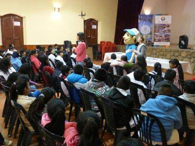 Alumnos de Cachi y Payogasta participaron de Custodios del Agua