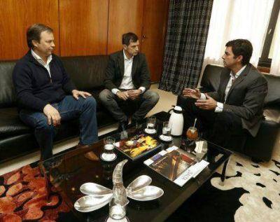 Eduardo Bucca y Mariano Cascallares se reunieron con Juan Manuel Urtubey