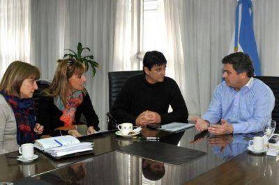 Gasparini pidi� a Provincia la construcci�n de un Servicio de Rehabilitaci�n para el Hospital