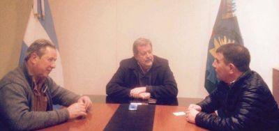 Bertellys se reunió con el ministro de Producción de la Provincia