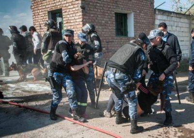 Tenso desalojo de manifestantes en Higiene Urbana municipal