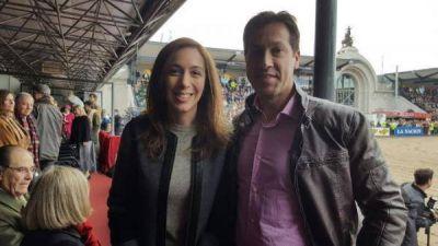 Arturo Rojas con la Gobernadora Mar�a Eugenia Vidal