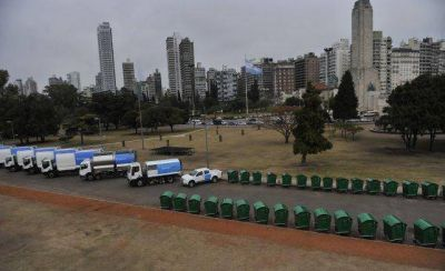 Suman seis camiones y contenedores a la recolección de basura