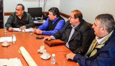Reunión por la situación limítrofe de Valle Chico