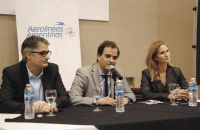 Presentaron el retorno de los vuelos comerciales a Río Cuarto