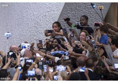 Mensaje del Papa para las Olimpiadas de Río de Janeiro y oración por su peregrinación a Asís