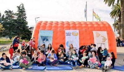 El municipio se suma a la celebración de la 'Semana Mundial de la Lactancia Materna'