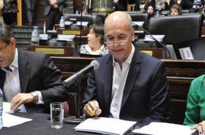 Larreta va por la ampliación presupuestaria