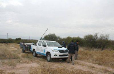 Continúa el mantenimiento sobre las líneas de provisión de agua cruda