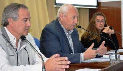 El intendente de Tres Lomas calific� como muy buena la reuni�n sobre Desarrollo Regional