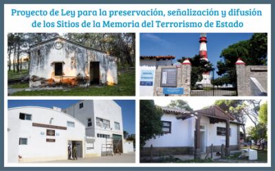 El diputado de la 4� Secci�n, Avelino Zurro, y la preservaci�n de los sitios de la Memoria