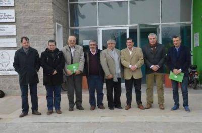Sin colores político partidarios camino al desarrollo regional: importante reunión en Trenque Lauquen
