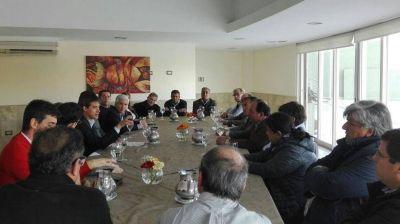 Cambiemos y Compromiso con San Juan se reunieron con Adrían Parez