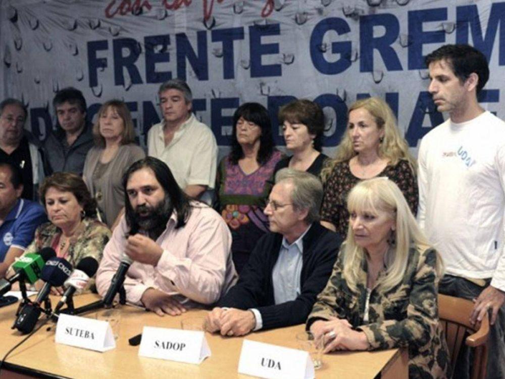 Gremios docentes culminaron el paro y volverán a la huelga el jueves 11