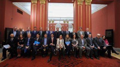 Gobernadores patag�nicos asistieron a la rosada