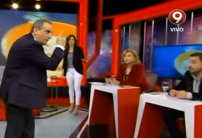 Moreno invitó a pelear a un economista: