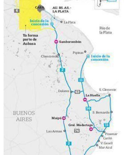El gobierno bonaerense estatizará las rutas que unen la Costa Atlántica