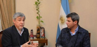 El gobernador de San Juan recibi� al presidente de la Comisi�n Nacional de Justicia y Paz
