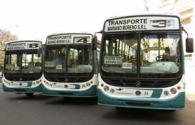El transporte paranaense recibió 10 millones de pesos en subsidios en julio