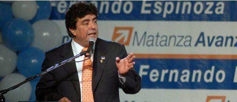 """Espinoza subray� que """"queda en claro la continuidad de la obra p�blica"""" en La Matanza"""