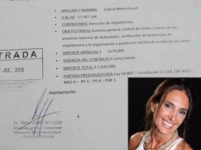 Provincia VIP: El ministro Cenzón contratará a una asesora con un sueldo de 170 mil pesos