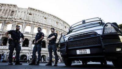 El Coliseo y el Vaticano, con seguridad reforzada por posibles atentados