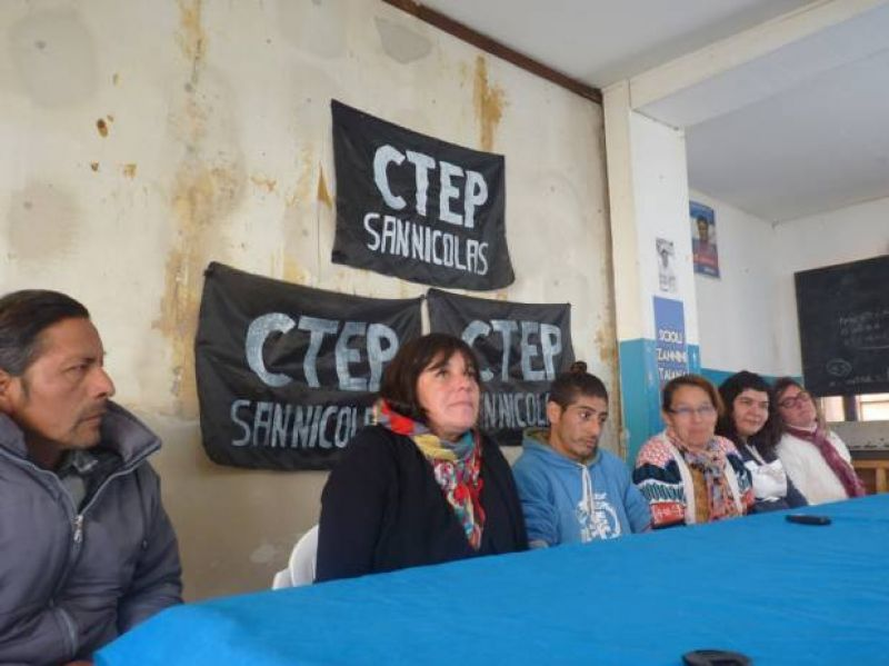 "La CTEP local se moviliza por ""paz, pan y trabajo"" a Plaza de Mayo"